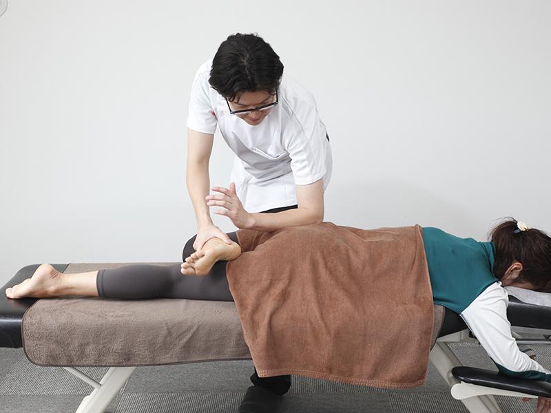 [写真]骨盤内の血流の改善